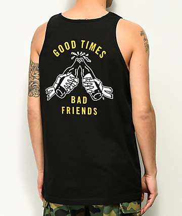 Lurking Class by Sketchy Tank Good Times camiseta negra sin mangas