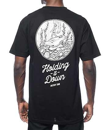 Lurking Class by Sketchy Tank Killer camiseta negra