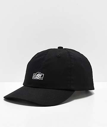 6264346bce499 Lurking Class by Sketchy Tank Logo Black Strapback Hat