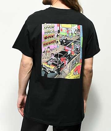 Lurking Class by Sketchy Tank Nazar 2 camiseta negra