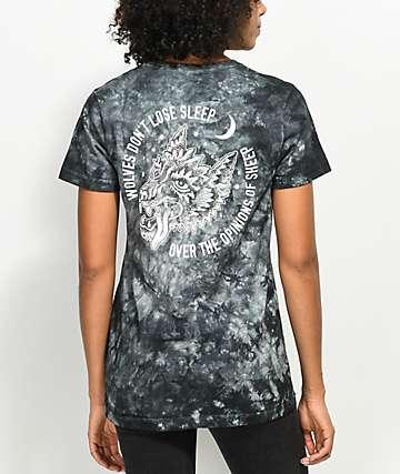 Lurking Class by Sketchy Tank Opinions Black Tie Dye T-Shirt