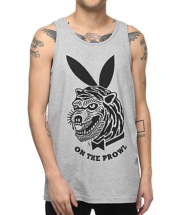 Lurking Class by Sketchy Tank Prowler Grey Tank Top