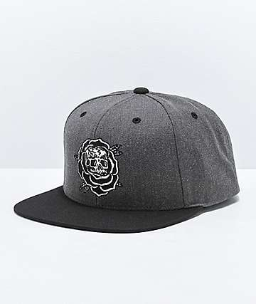 Lurking Class by Sketchy Tank Rose Grey & Black Snapback Hat