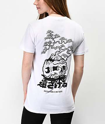 Lurking Class by Sketchy Tank x Mr. Tucks White T-Shirt