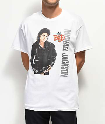 MJ Bad White T-Shirt