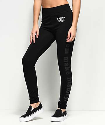 MTTM x K-Swiss Well Behaved Black Leggings