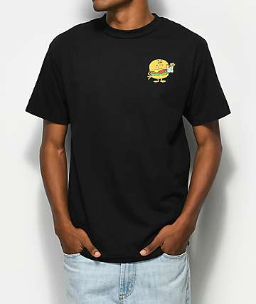 Made In Paradise Good Burger Black T-Shirt