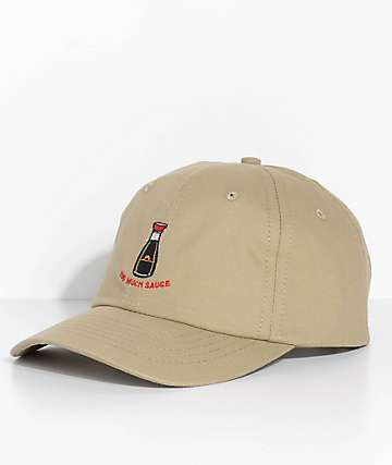 Made In Paradise Too Much Sauce Khaki Dad Hat