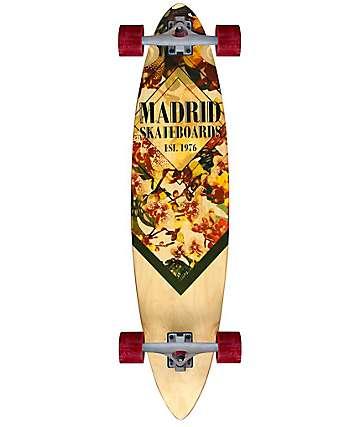 "Madrid Blunt Orchid 38"" Longboard Complete"