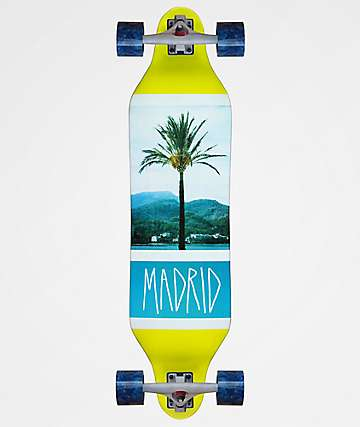 "Madrid Weezer Coastline 36"" Longboard Complete"