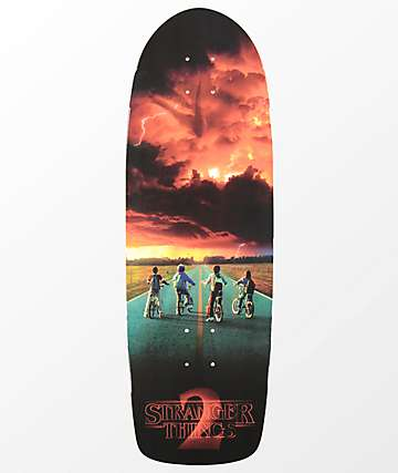 "Madrid x Netflix Stranger Things 2 Road Poster 9.5"" Skateboard Deck"