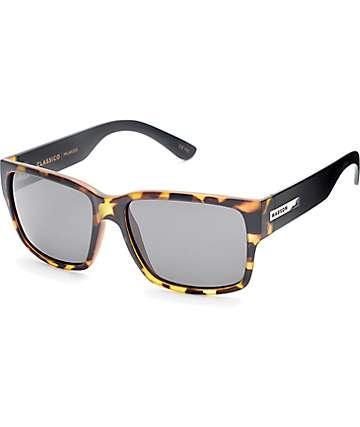 Madson Classico gafas de sol polarizadas en carey mate y negro