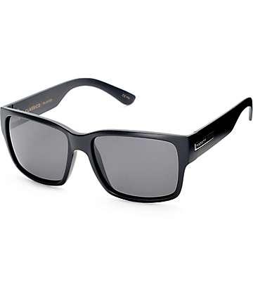 Madson Classico gafas de sol polarizadas en negro mate con gris