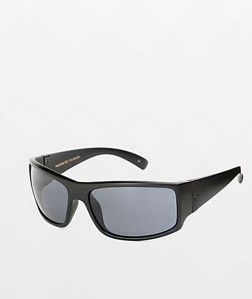 Madson Magnate gafas de sol polarizados en gris y negro