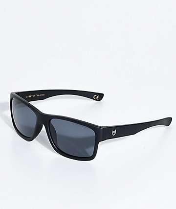 Madson Stretch gafas de sol polarizadas en negro mate y gris