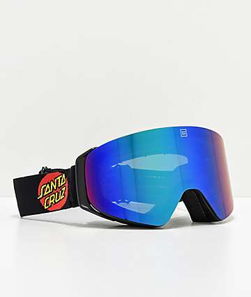 Madson x Santa Cruz Cylindro Screaming Hand gafas de snowboard