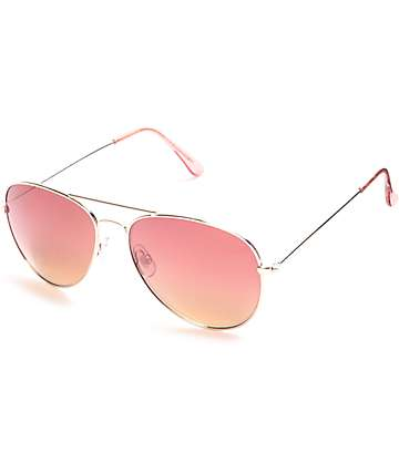 Maestro Gold Aviator Sunglasses