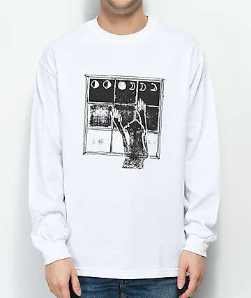 Maka Lassi Eclipse Last White Long Sleeve T-Shirt