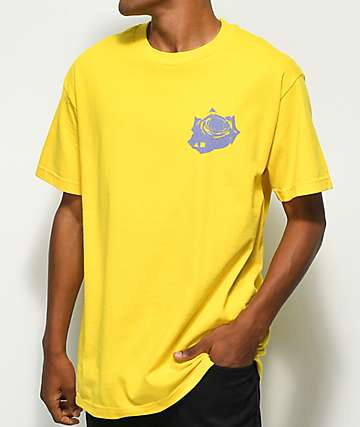Maka Lassi Rose Yellow T-Shirt