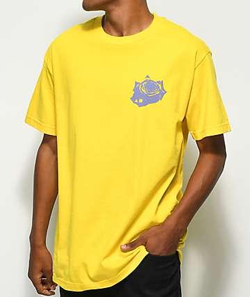 Maka Lassi Rose Yellow T-Shirt