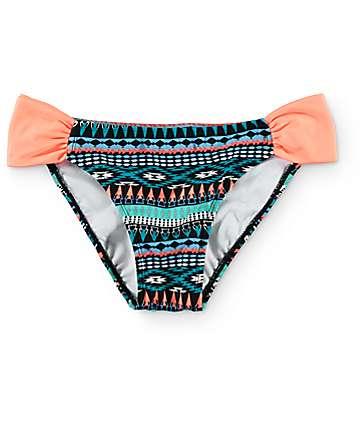 Malibu Arrowhead Treasure Tab Side bottom de bikini