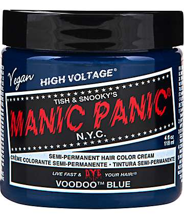 Manic Panic High Voltage Voodoo Blue Hair Color