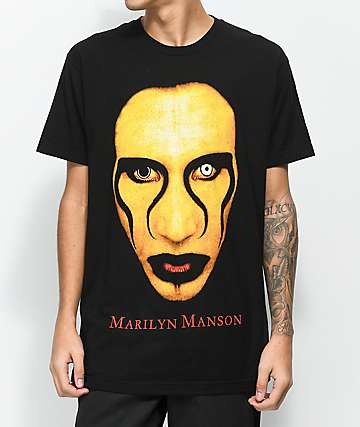 Marilyn Manson Sex Is Dead Black T-Shirt