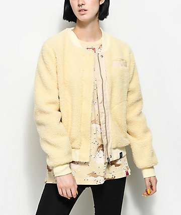 Married To The Mob Cozy Faux Sherpa Jacket