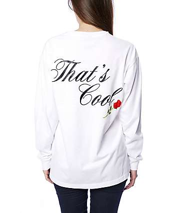 Married To The Mob Thats Cool White Long Sleeve T-Shirt