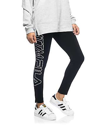 Married To The Mob x Fila Racer leggings negros