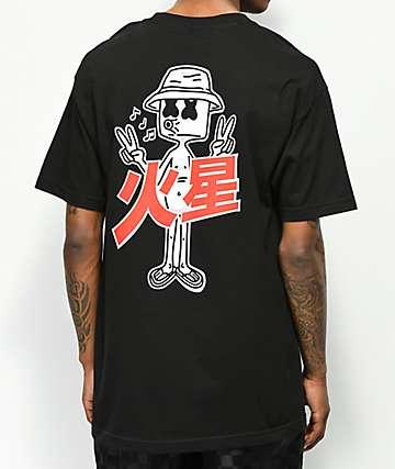 Marshin Invasion camiseta negra