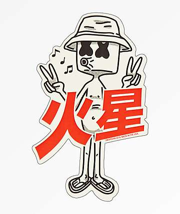 Marshin Kanji Sticker