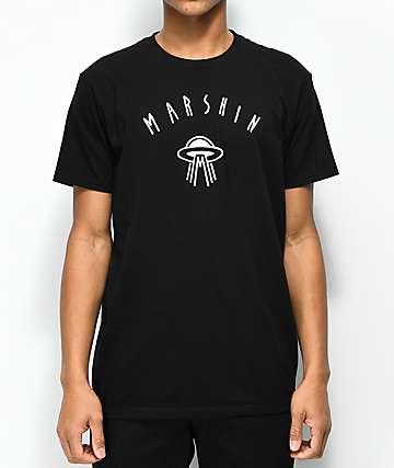 Marshin Logo camiseta negra