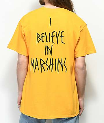 Marshin Secret Society Gold T-Shirt