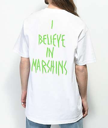 Marshin Secret Society White T-Shirt