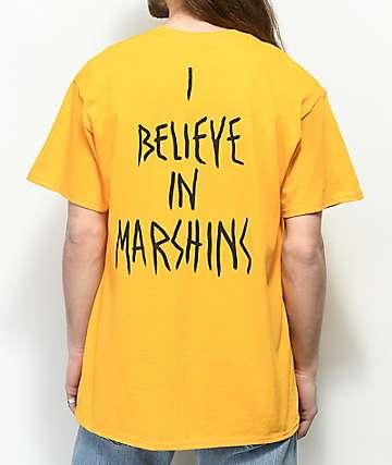 Marshin Secret Society camiseta dorada