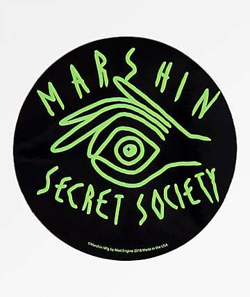 Marshin Secret Society pegatina
