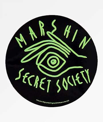 Marshin Secret Society pegatina