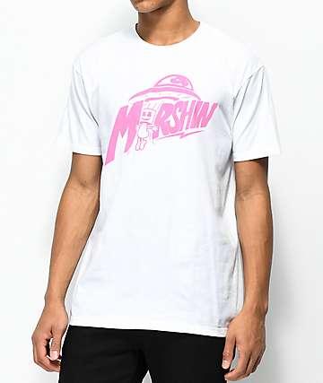 Marshin Tractor Beam camiseta blanca