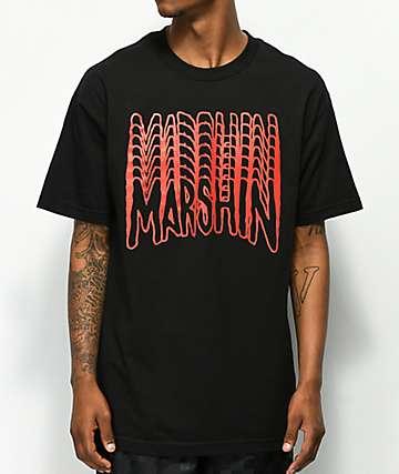 Marshin Undercover camiseta negra