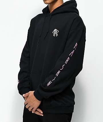 Marshin Vertical Black Hoodie