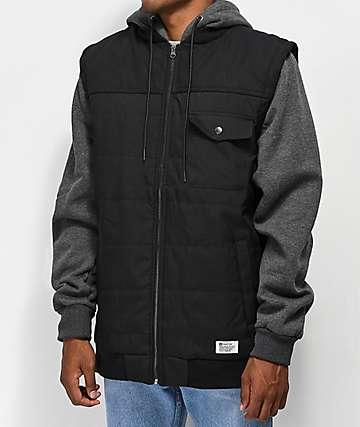 Matix Summit Asher 2Fer chaqueta negra y gris