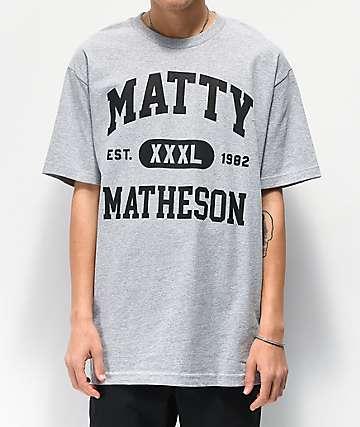 Matty Matheson Team Matty Heather Grey T-Shirt