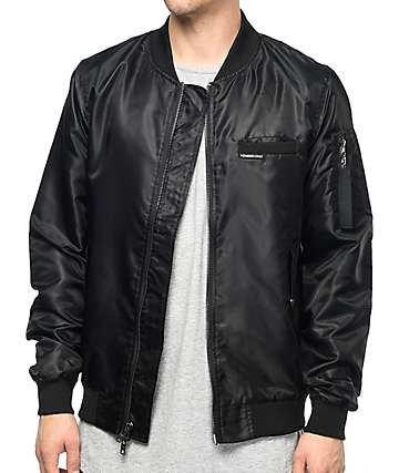 Members Only Military Black Bomber Jacket