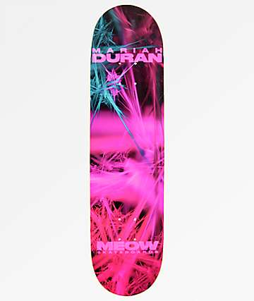 "Meow Skateboards Mariah Duran Fractual 8.0"" Skateboard Deck"