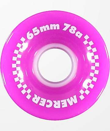 Mercer 65mm 78a Purple Skateboard Wheels