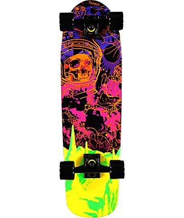 """Mercer Blacklight 28.5"""" skateboard cruiser completo"""