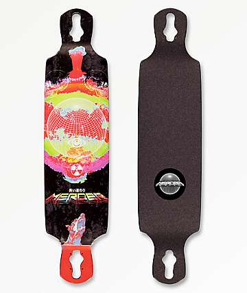 "Mercer End Of Daze 38"" Drop Through Longboard Deck"