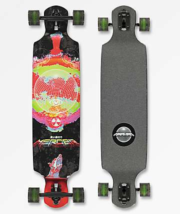 "Mercer End Of Daze 38"" Drop Through longboard completo"