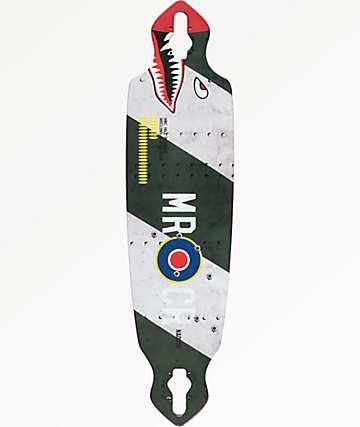 "Mercer Hill Bomber 36"" tabla drop through longboard"